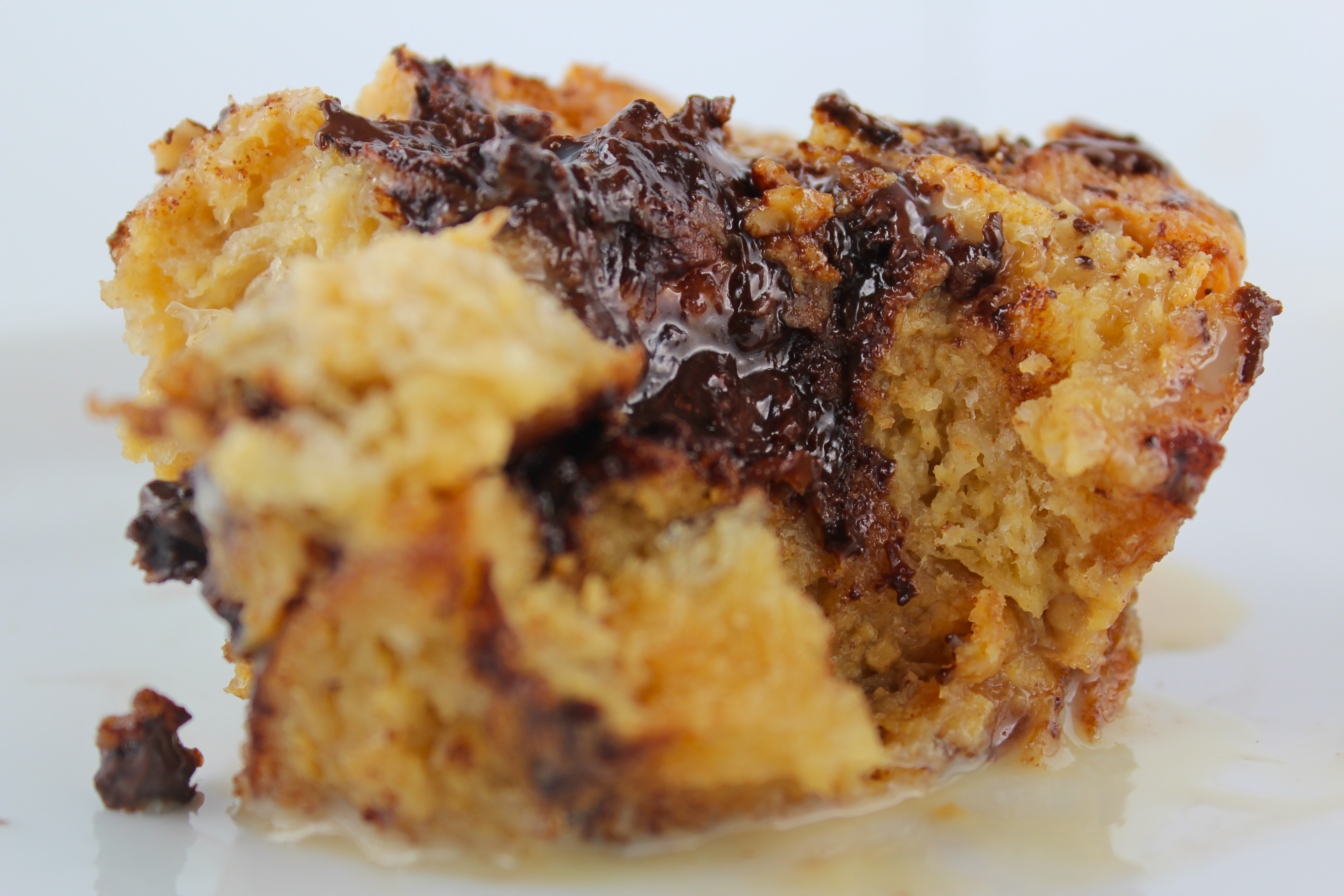 ... Unchained – Part 1: Aztec'd Dark Chocolate Croissant Bread Pudding